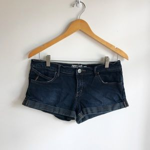 Roxy Shorts - Dark denim jean shorts